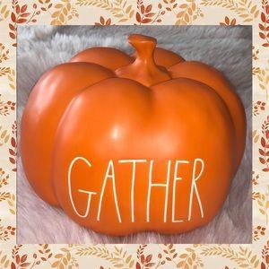 RAE DUNN  |  GATHER Pumpkin